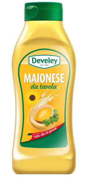 MAIONESE DEVELEY DA TAVOLA 875ML. SQUEEZE