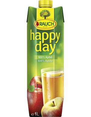 SUCCO MELA 100% HAPPY DAY 1LT X 12 RAUCH