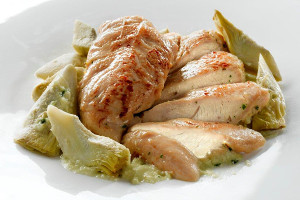 FILETTI DI POLLO AI CARCIOFI 240gr