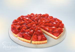 CHEESE CAKE FRAGOLA GR.1450 X12PORZ